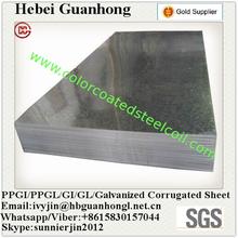 0.7mm thickness GP galvanized plain steel sheet