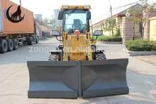 WOLF loader 1.6 ton ZL16 radlader hoflader pyorakuormaaja V plow V blade