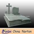 Cruz decorativa cor personalizada caixão de desenho, vaso, lápide de granito ntgt- 028