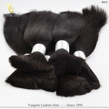 2015Top Quality Wholesale China Factory 100%Unprocessed human hair in bulk from india