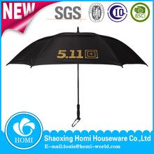 Plain Black Golf Umbrella 511 Oversized Rain Umbrella Umbrella Golf