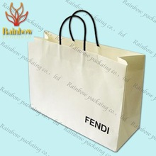 machine made high quality paper carry bags for shopping