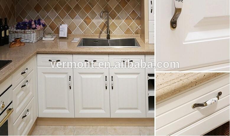 Witte Laminaat Keuken : houten deur moderne witte keuken kast pvc ...