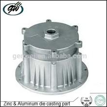 Custom aluminum die casting electric motor cover