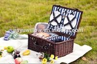 2015 Eco-friendly empty wicker picnic baskets