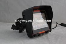 4.3inch gps motorbike & vehicle with free maps