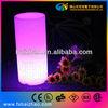 Pe led cylinder light/rgb table lamp/rechargable/christmas decoration