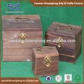 antiguos sin terminar baratos fabricados en china hecha a mano de madera caja de joyería
