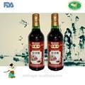 Chinês brown aged vinagre 500 ml garrafa de alho com sabor