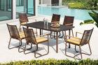 Anne Outdoor/Garden furniture Man-made wicker/ Rattan /Cane Dining Furniture