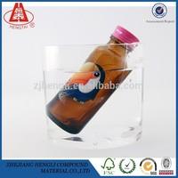 HENGLI Custom Glossy waterproof Self Adhesive Label Canned Food/Wine/Beer Packing Stickers