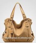2015 new fashion hot sell vintage tassel leisure PU leather ladies hand bag shoulder strap handbag messenger bag