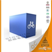 Modern Outdoor Furniture Customized Antirust Waterproof Safety Bike Rack Lockers
