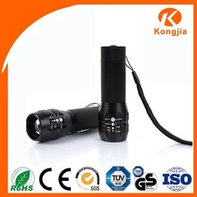 aaa battery 200 lumens 3w outdoor zoom flashlight For biking hiking