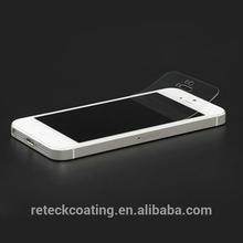 Free sample hot selling anti-fingerprint mirror screen protector for lg g2