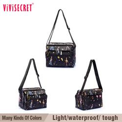vivisecret custom waterproof recycled reusable polyester sling bag