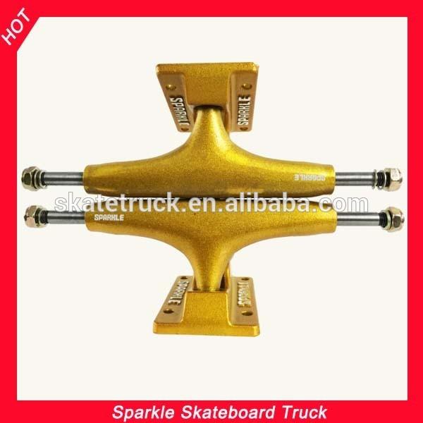 Golden Skateboard Trucks Sparkle Skateboard Truck With