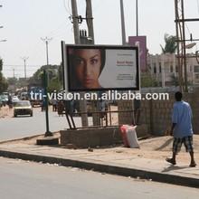 Outdoor scrolling Advertising display aluminium frame billboard