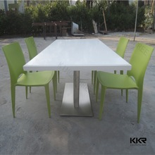 factory directly fast food shop rectangular table and chair