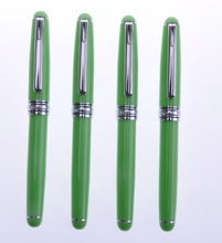 2014 acrylic metal pen, logo fountain pen, promotional products