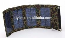 8W Portable Folding Solar Charger bag, lady power banks