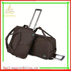 I285 Fashionable design travel bag and backpack/travel trolley bag