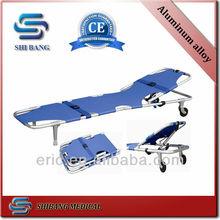 2014 CE ISO foldable nylon fabric stretcher stretcher or gurney