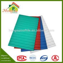 Good performance waterproof corrugated upvc roofing sheet