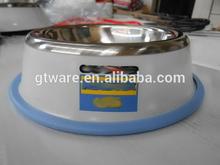 Stainless steel Pet Bowl/Dog Bowl/placas de perro de acero inoxidable