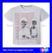 wholesale cheap t shirts for men / latest fashion men's short sleeve t shirt printing