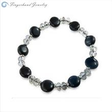 Korean Style Fashion B lack And White C olor Bracelet Murano Glass Bracelet Expensive Friendship Bracelet