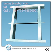galvanized steel profile wall partition