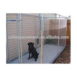portable chain link dog run kennels