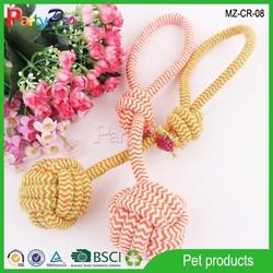 2015 China Wholesale Pet Supply Dog Cotton Rope Toy Ball