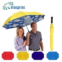 Fashion Custom Double Canopy Lover Umbrella Promotional Products Materials