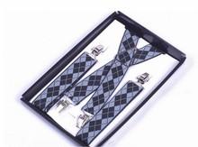 metal clips dongguan solid color adjustable belt suspender with wholesale price