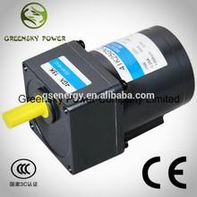 6W~180W ac synchronous gear motor 110v ac small gear reduction electric motor
