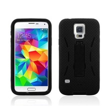 For Samsung S6 Hybrid Armor Heavy Duty Rugged Kick Stand mobile phone combo case