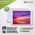 9 pulgadas Android Tablet PC 800 * 480