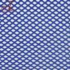Diamond Blue Polyester Spandex Stretch Bonded Mesh Fabric