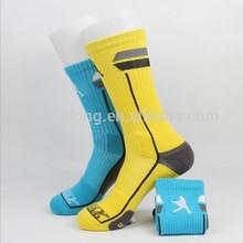 Men basketball soccer sock high quality dri-fit sport sock crew sock