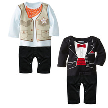 spring Newborn Clothes Baby cotton Romper Long-Sleeve Baby Product Baby Warm Rompers Children Jumpsuit