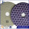 Hot-Selling high quality low price Designer Resin Concrete Diamond Dry Polishing Pads