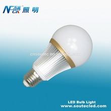 SMD5730 80lm/w china light bulbs led aluminum high power led lighting bulb 7w e27 220V
