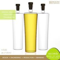 Wholesale Heat Resisitant Fancy Pyrex Glass Cooking Vegetable Oil Bottle