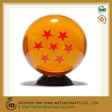NEW HOTSALE 2015 Natural Resin Dragon Ball Z Replica Ball (1-7 Stars) 7.6 CM diameter with color gift box