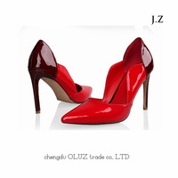 OP11 red heels best leader shoes for women