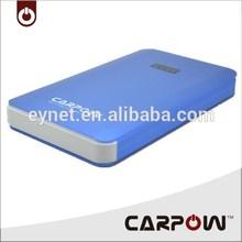 Car jump starter CARPOW brand high quality mini 12v rechargeable battery