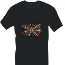 new style LED flashing t-shirt