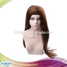 New arrival virgin Mongolian human hair Jewish wig Kosher wigs band fall